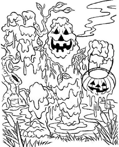 scary zombie halloween coloring pages free scary zombie coloring pages