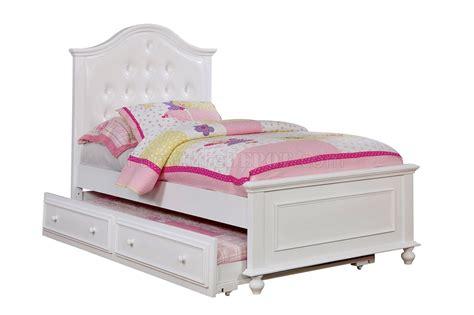 olivia bedroom set olivia cm7155wh 4pc kids bedroom set in white w options