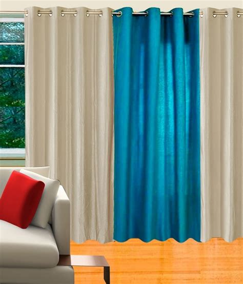 pale blue eyelet curtains 65 off on decor vatika polycotton white light blue