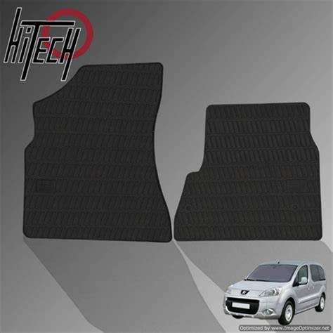 peugeot partner mats peugeot partner tepee rubber car mats 2008 onwards