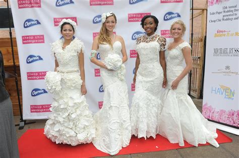 Wedding Dress Sweepstakes - 12th annual toilet paper wedding dress contest winners the pennywisemama