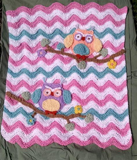 pattern st roller owl chevron stroller blanket pattern by lulu bebeblu