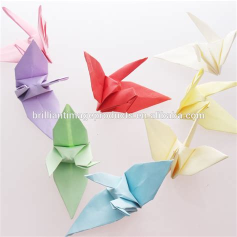 Origami Paper Cheap - china handmade fold origami paper cranes wholesale buy