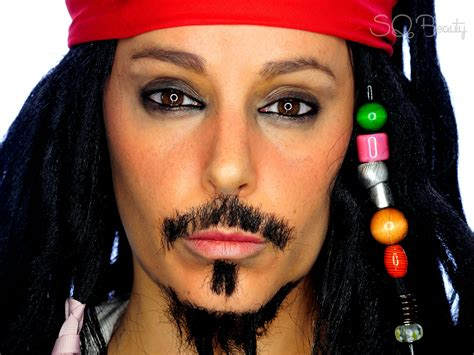 tutorial makeup jack sparrow capitan jack sparrow makeup tutorial silvia quir 243 s