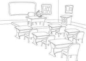 classroom 17 buildings and architecture printable