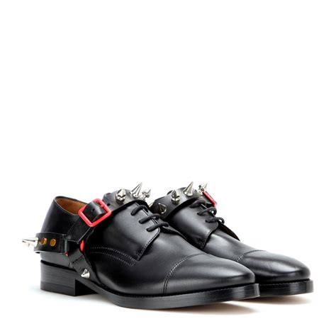 acne studios shoes acne studios piper embellished leather derby shoes in