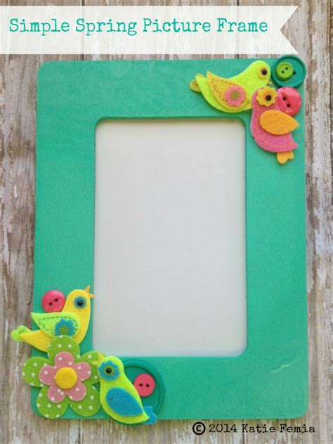 Simple Handmade Photo Frames - simple diy picture frame