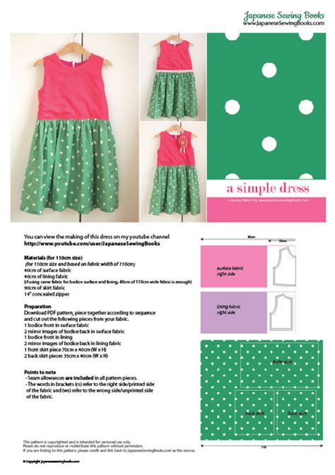 sewing pattern making books free download free pattern tutorial and sewing video a simple dress