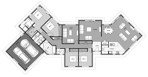 boomerang shaped house plans emerald signature homes