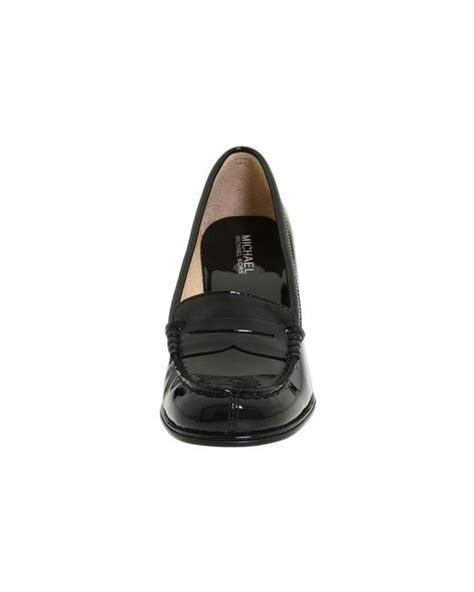 michael kors bayville loafer michael michael kors bayville loafer in black lyst
