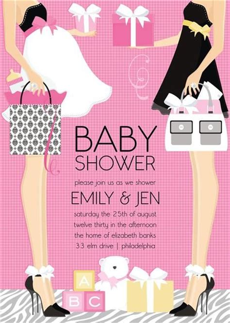 Joint Baby Shower Invitation Wording by 25 Best Ideas About Joint Baby Showers On