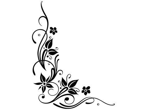 tattoo vorlagen png wandtattoo eckornament f 252 r wandecken klebeheld 174 de