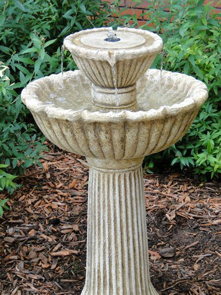 Sun Powered Cascade Fountains by 1000 Images About Garden Water Features On