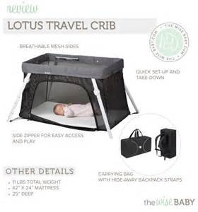 guava family lotus everywhere travel crib the wise baby