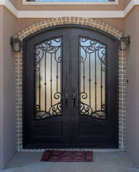 Exterior Iron Doors Sh 52 Wrought Iron Door Stonehenge Us