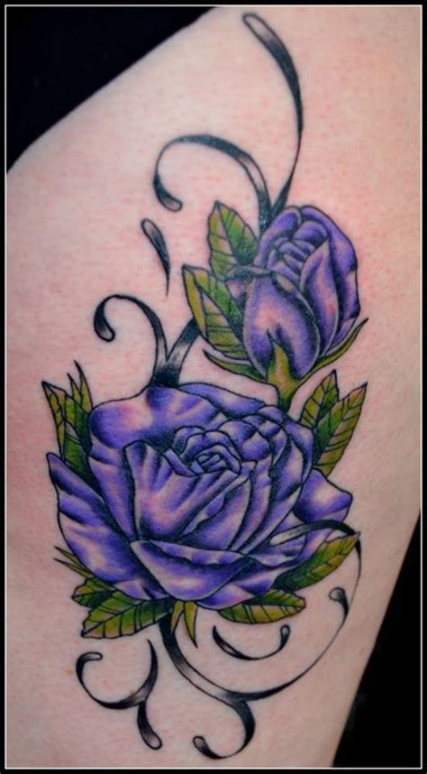 lavender rose tattoos designs 25 best ideas about purple flower tattoos on