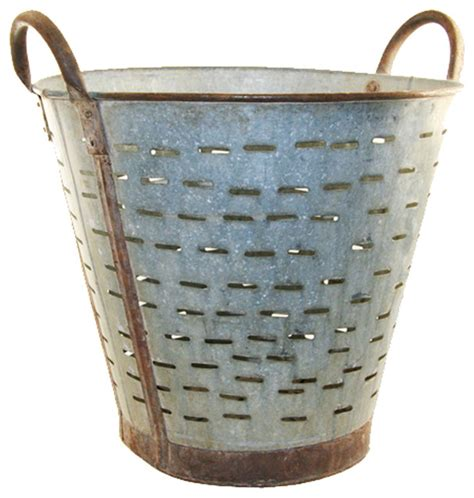 decorative objects for the home olive harvest classic bucket farmhouse decorative