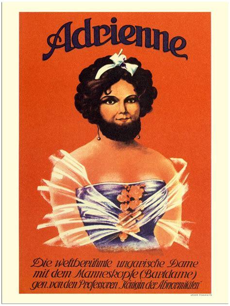 bearded circus ap441h adrienne bearded circus poster 1925 jpg 752
