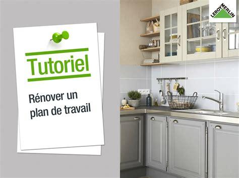 Restaurer Plan De Travail Cuisine 3390 by R 233 Nover Une Ancienne Cuisine Leroy Merlin