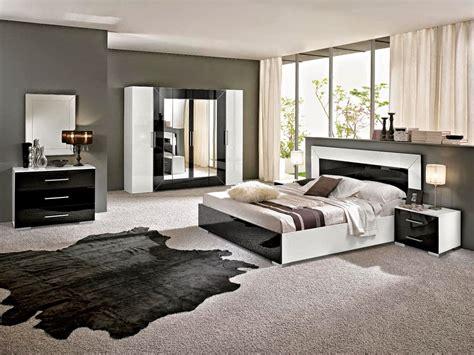 chambre blanc et noir best chambre moderne noir et blanc decoration chambre noir