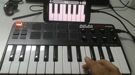 Keyboard Eyota Usb By Tablet external usb midi controller keyboard on android ics