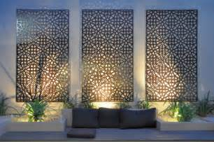 grail outdoor screen and wall contemporary