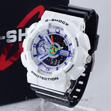 Casio G Shock Terbaru Hitam jual g shock ga 110 putih hitam kw jamtangansby