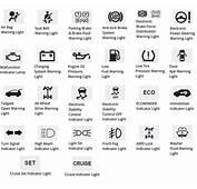 Dodge Dash Warning Lights Symbols