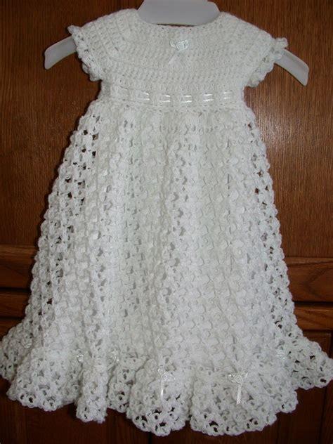 pattern for etsy crocheted baby blessing christening dress by babysewsoft