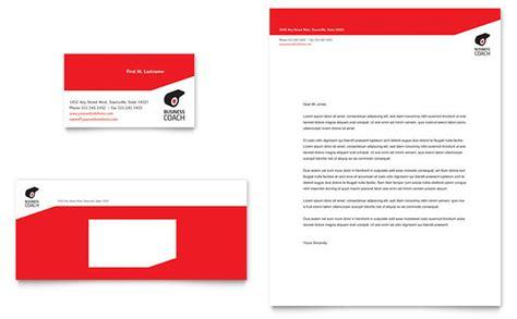 executive business card template business executive coach business card letterhead