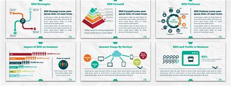16 Cool Powerpoint Templates For Analytics Presentation Desiznworld Cool Infographic Templates