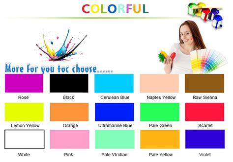Harga Cat Akrilik 1 Warna cina pasokan harga yang wajar cat akrilik untuk cat gambar