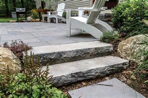 Building A House On A Slope ep henry chilton steps chiseled finish devonstone saw cut