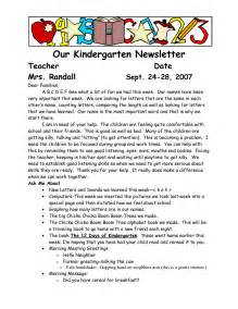 Parent Welcome Letter From Preschool Sle Welcome To Kindergarten Letters Our Kindergarten