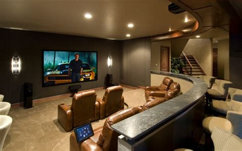 basement media room 18 basement renovation designs ideas design trends