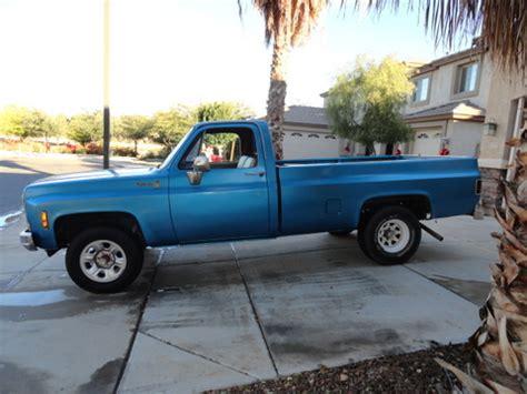 chevy scottsdale chevrolet chevy trucks  sale