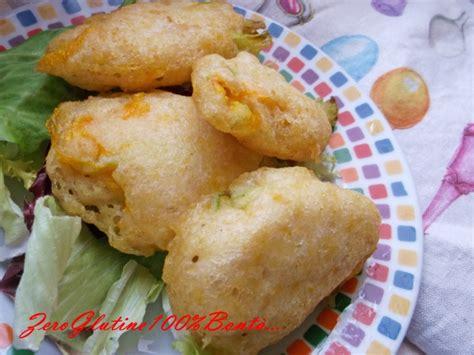 pastella per i fiori di zucchina fiori di zucchina in pastella senza glutine ricetta ed