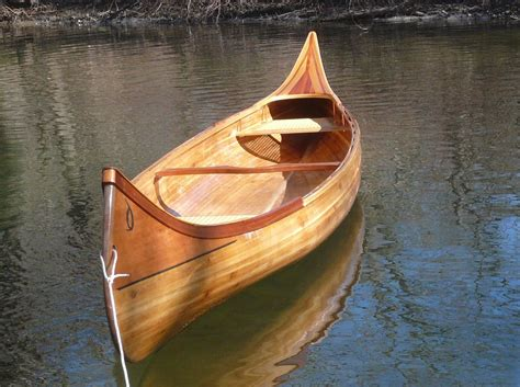 Handmade Wooden Canoes - 18 handmade cedar canoe 2 the hull boating and