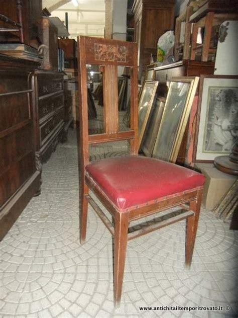 sedie liberty antichit 224 il tempo ritrovato antiquariato e restauro