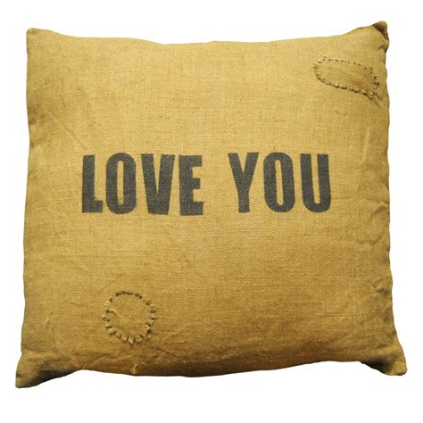 Sugarboo Designs Pillows by 24 Quot X 24 Quot Burlap You Pillow By Sugarboo Designs