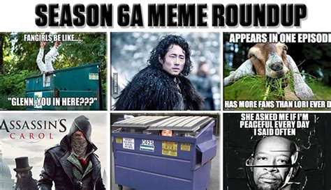 Six Meme - walking dead season 6 meme www pixshark com images