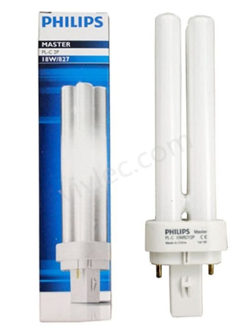 Lu Neon Philips Led philips plc 18w for downlight compact fluorescent