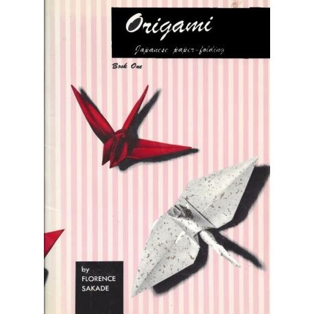 Japanese Origami Books - origami japanese paper folding book 1 s crane