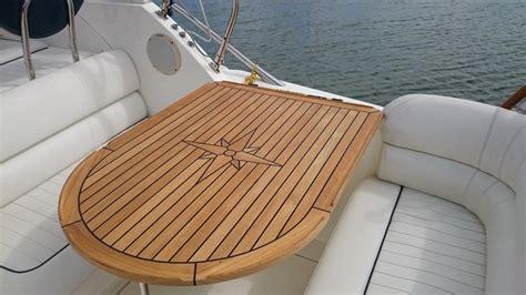 boat table nautic star soft marine teak table