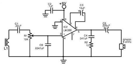 induction loop circuit my story magnetic communication project