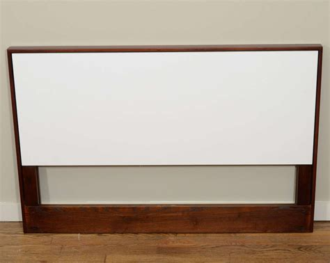 laminate headboard pair of florence knoll walnut and white laminate twin