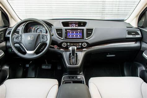 Honda Crv Interior Pictures by 2015 Honda Cr V Touring Awd Arrival Photo Gallery Motor
