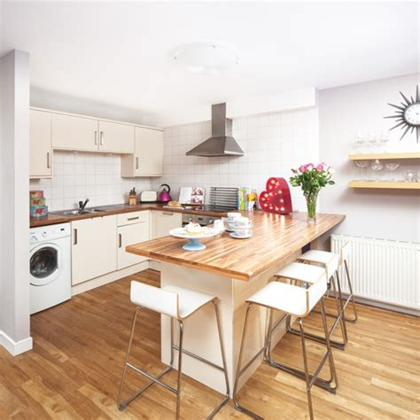 Breakfast Bar Work Top by Kitchen Diner With Extended Worktop Breakfast Bar