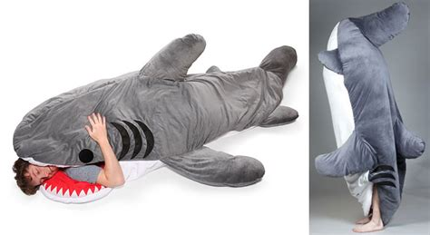 shark pillow that eats you chumbuddy shark sleeping bag the green head