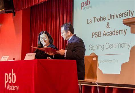 Mba La Trobe Hanoi by New Science Degrees From La Trobe Psb Academy Asian